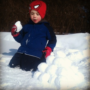 Snowballs: It's what's for snack.